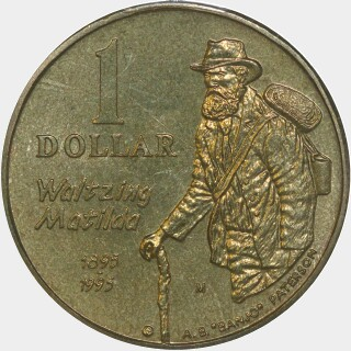 1995-M  One Dollar reverse