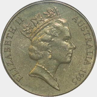 1995-M  One Dollar obverse
