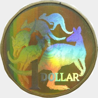 2004 Holographic Proof One Dollar reverse