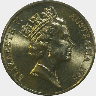1995  Two Dollar obverse