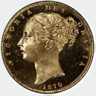 1879-S Specimen Full Sovereign obverse