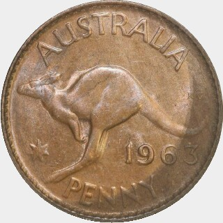 1963-Y  Penny reverse