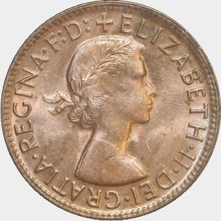 1963-Y  Penny obverse