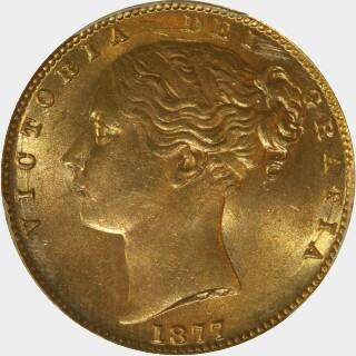 1877-S  Full Sovereign obverse