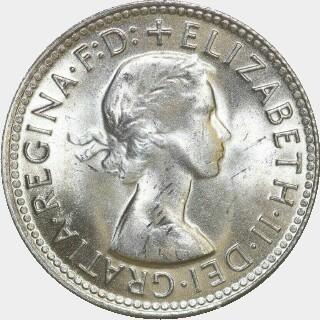 1961  Shilling obverse