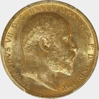 1902-M  Full Sovereign obverse