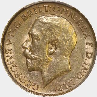 1919-M  Full Sovereign obverse