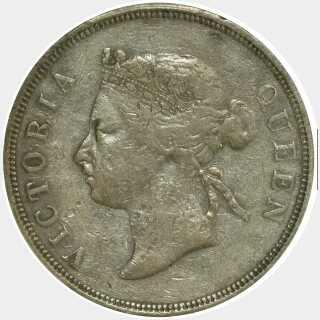 1889  Fifty Cent obverse