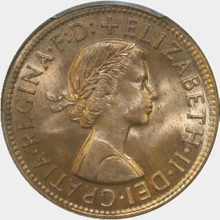 1956  Penny obverse
