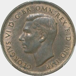 1941  Half Penny obverse