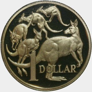 2000 Proof One Dollar reverse