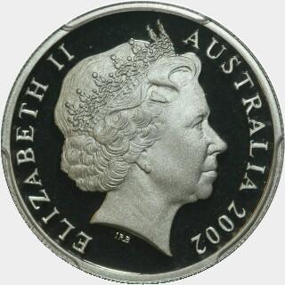 2002 Proof Ten Cent obverse