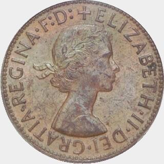 1956-Y  Penny obverse