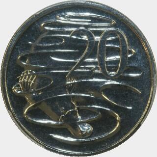 2011  Twenty Cent reverse