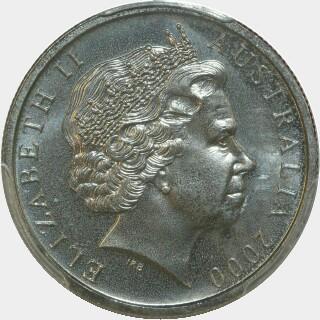 2000  Five Cent obverse