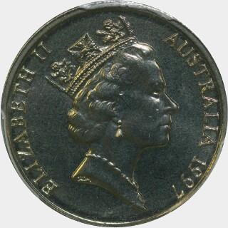 1997  Five Cent obverse