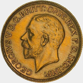 1931-M Proof Full Sovereign obverse