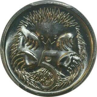 1998  Five Cent reverse