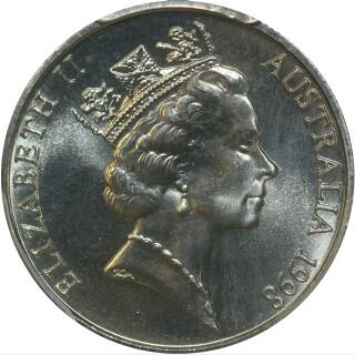 1998  Five Cent obverse