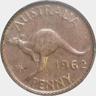 1962-Y  Penny reverse