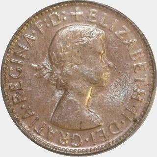 1962-Y  Penny obverse