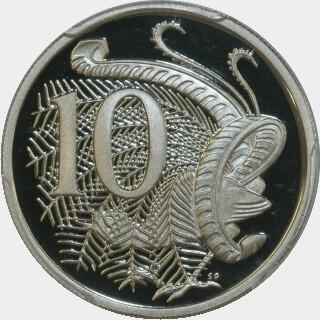 2016 Proof Ten Cent reverse