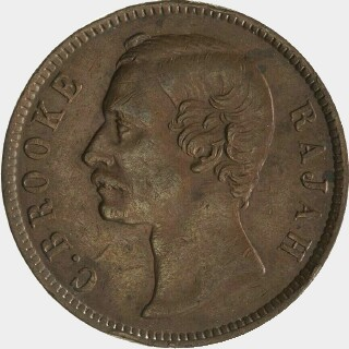 1887 Proof One Cent obverse