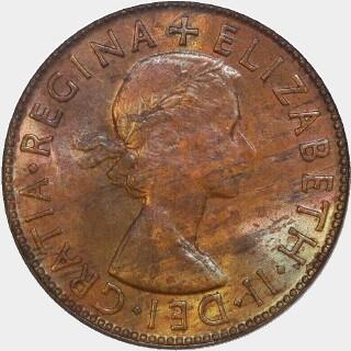 1953-A  Penny obverse