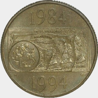 1994-M  One Dollar reverse