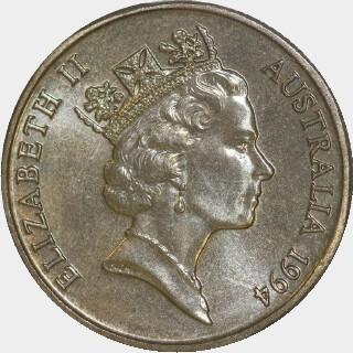 1994-M  One Dollar obverse