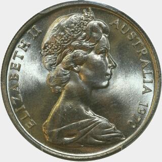 1970  Ten Cent obverse