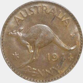 1944-Y  Penny reverse
