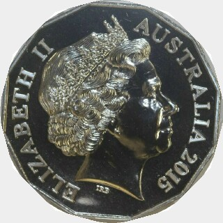 2015  Fifty Cent obverse
