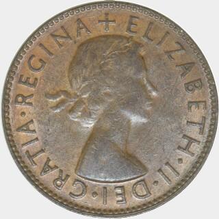 1955  Half Penny obverse