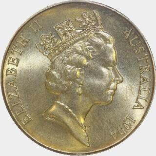 1994-C  One Dollar obverse