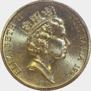 1993  One Dollar obverse
