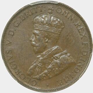 1936  Half Penny obverse
