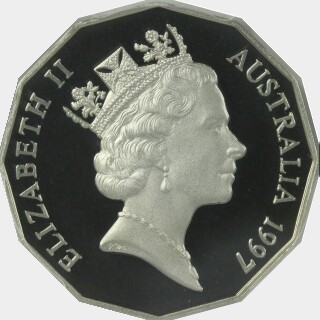 1997 Proof Fifty Cent obverse