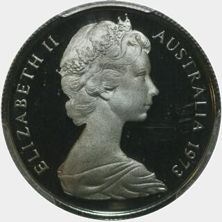 1973 Proof Five Cent obverse