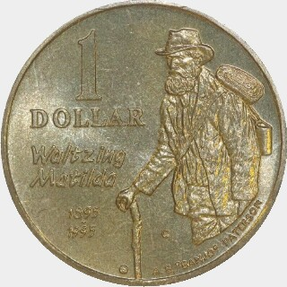 1995-C  One Dollar reverse