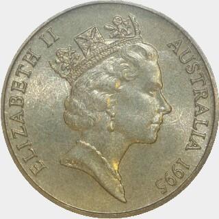 1995-C  One Dollar obverse