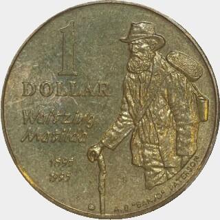 1995-S  One Dollar reverse