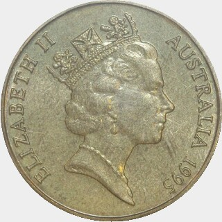 1995-S  One Dollar obverse