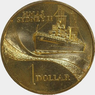2000-S  One Dollar reverse
