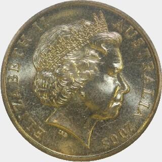 2005-M  One Dollar obverse