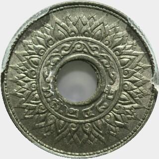 1942 Tin Ten Satang obverse