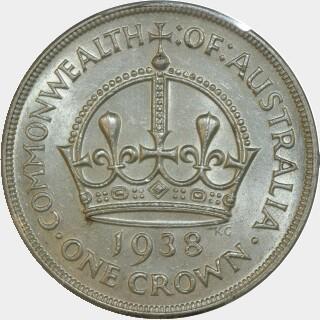 1938  Crown reverse