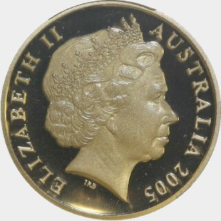 2005 Proof One Dollar obverse