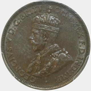 1924  Half Penny obverse