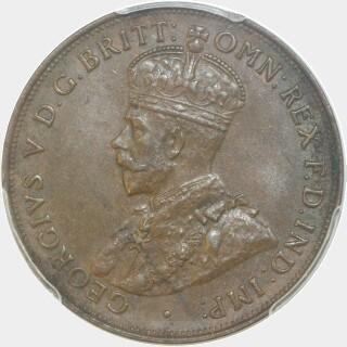 1921  Penny obverse